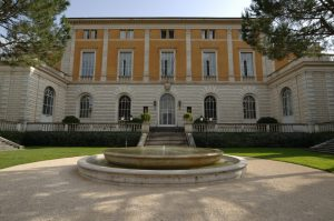 Front facade of the American Academy in Rome
