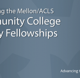 Community College Faculty Fellowships Banner
