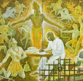 Image from the Bhagavad Gita