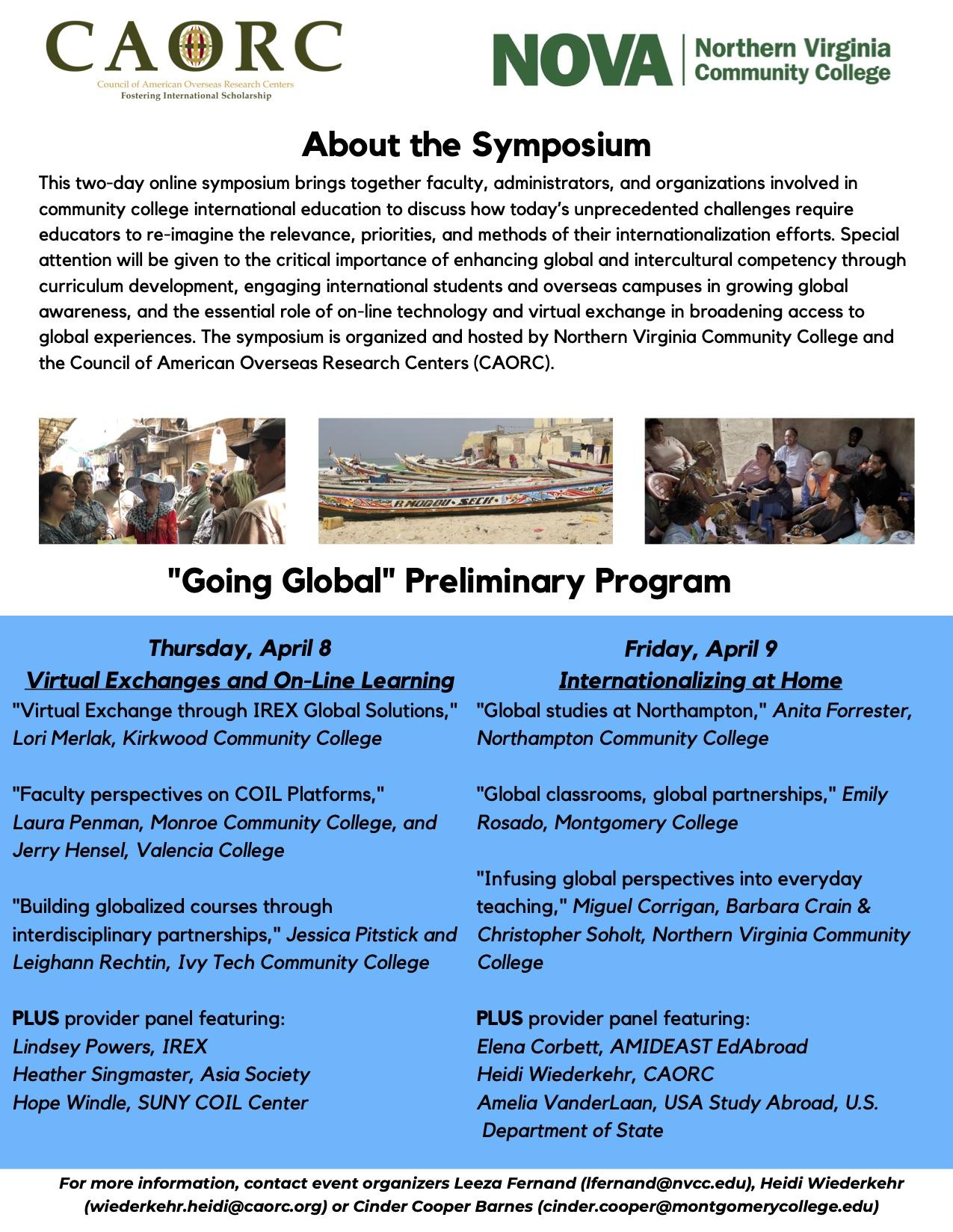 NOVA Going Global Webinar, promo flyer, final 2